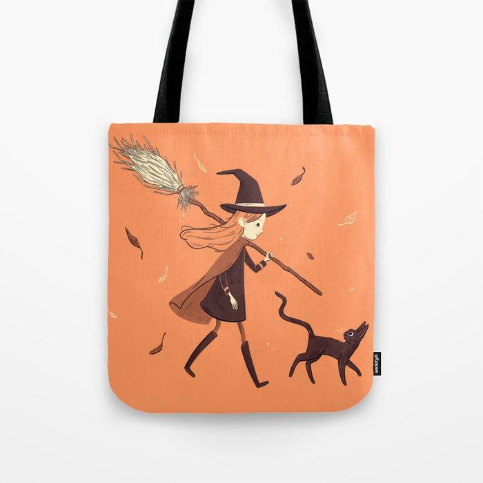 Little Witch Girl by Celia Krampien