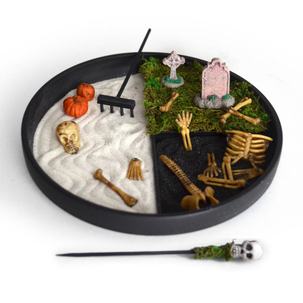 Halloween Decor // Zen Garden