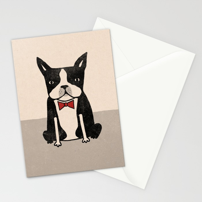 - Boston Terrier card