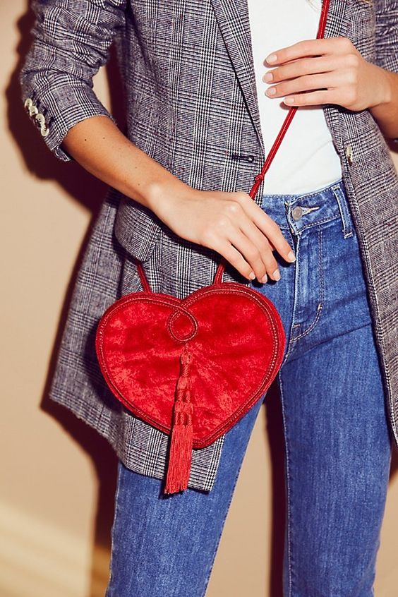Lovestruck Velvet Crossbody