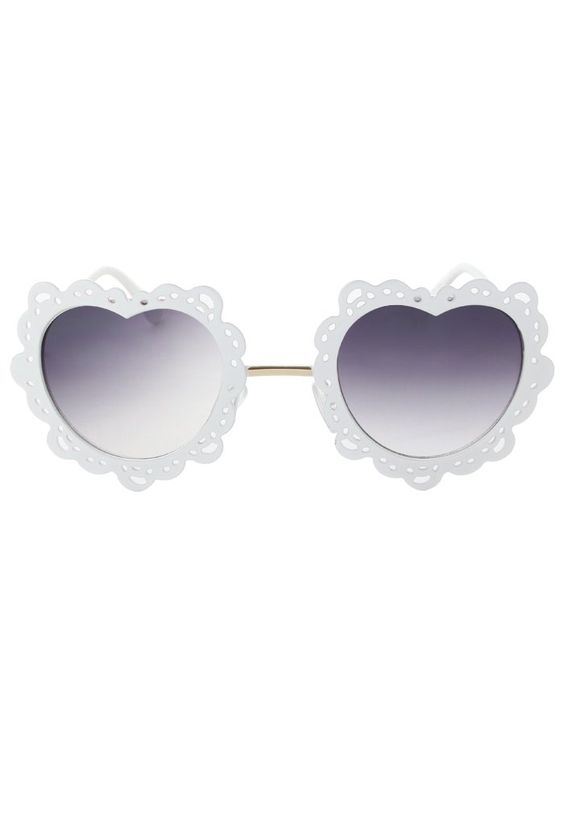 Cut out Hearts Sunglasses