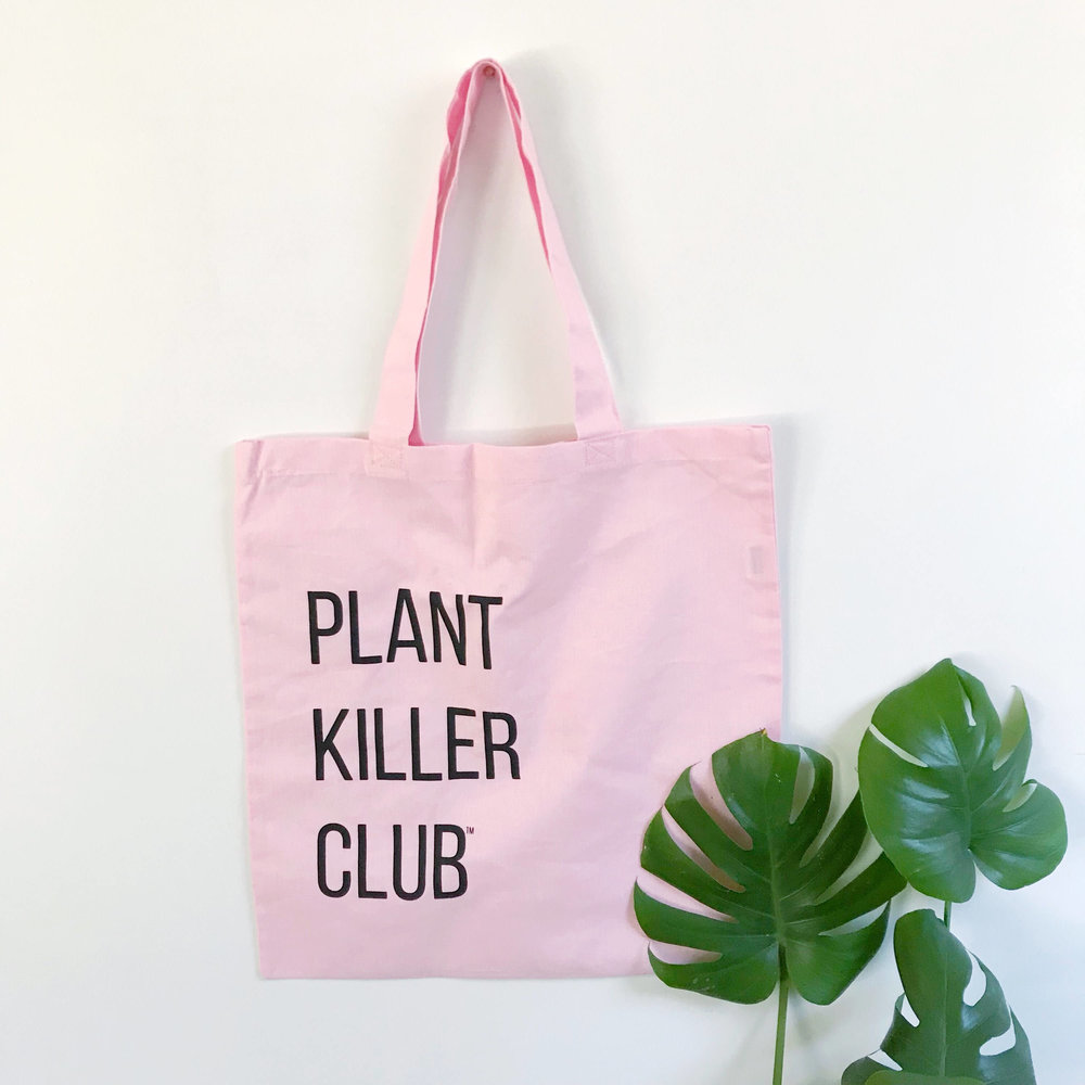 Tierra Sol Studio Plant killer club tote