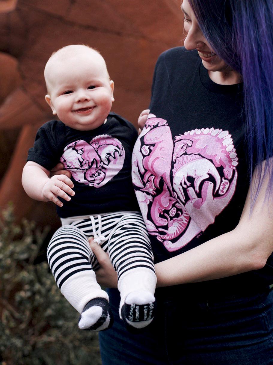 Loveasaurus shirts