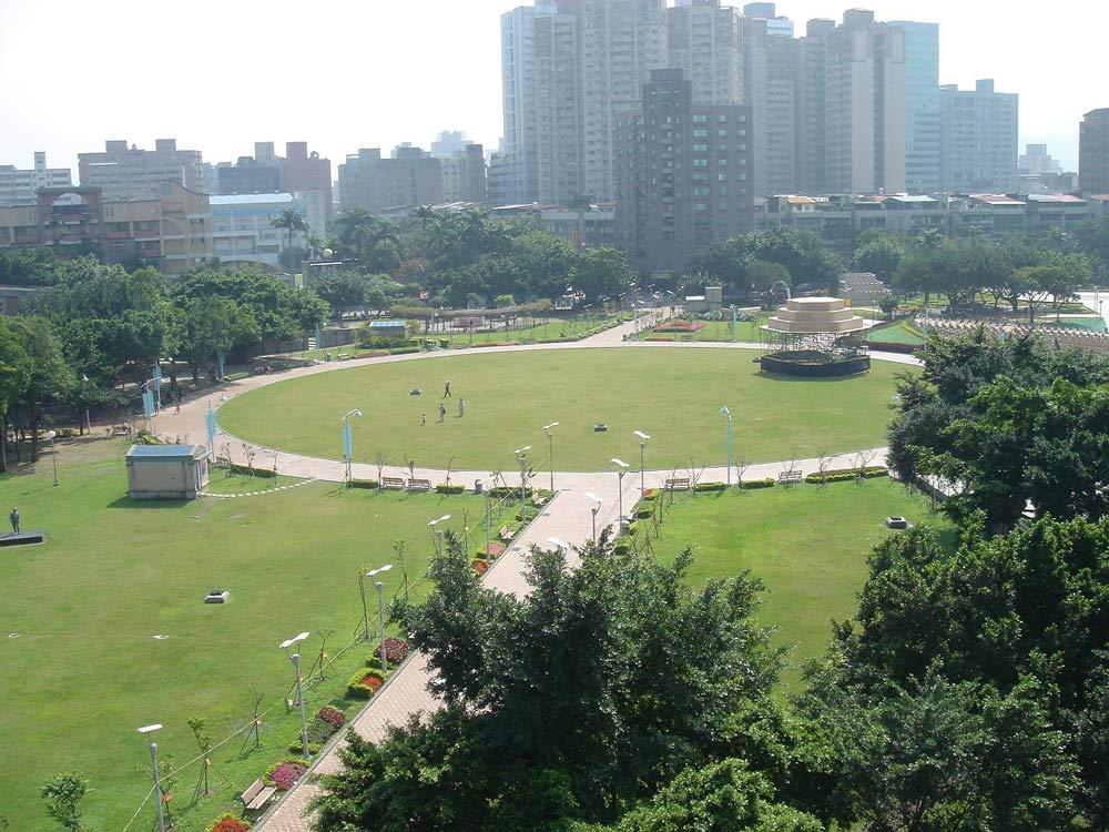 俯視永和市仁愛公園20100214.JPG
