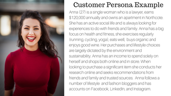 Creating customer persona is an ideal way to create better targeted marketing campaigns.