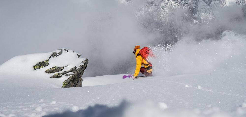 Silvia Moser freeride ski