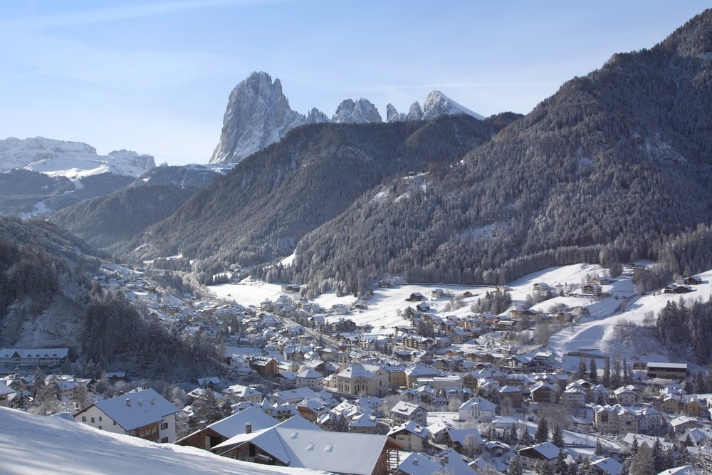 THE CENTER OF VAL GARDENA -