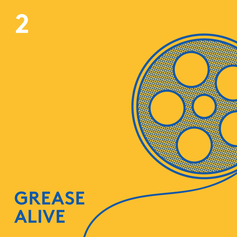 <strong>GREASE ALIVE</strong><br>Rooftop Cinema accompanied with a live band<br><br>
