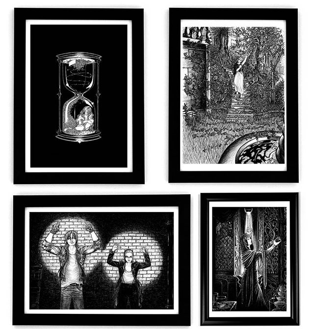 Limited edition prints of my personal works restocked ready for Christmas, now available on my Etsy shop at www.etsy.com/uk/shop/AlisonSchofieldInk - will also be at Brighton Craft Fair on 25th November #brighton #prints #limitededition #art #christmasgift #gothicart #gothic #art #drawing #inkartist #contemporaryart #urban #garden #street #hourglass #blackandwhite #penandink #gift #illustration #inkwork #handdrawn #fantasy #inkdrawing #inkart #christmas #monochrome #giftideas #giclee #artgift #shopping