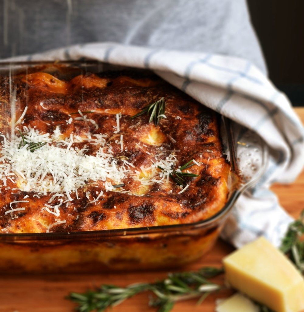 Rich and flavoursome lasagne - the perfect comfort food.