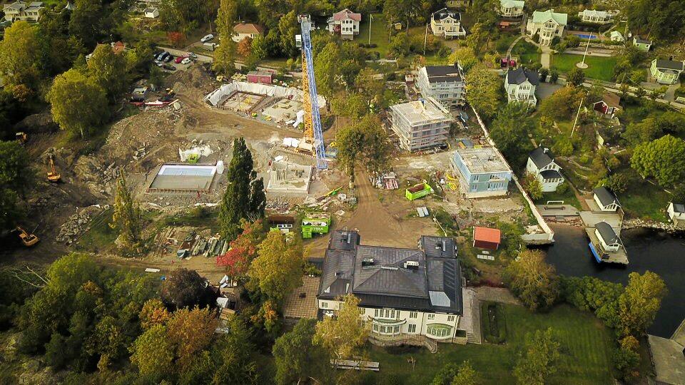Byggplats översikt