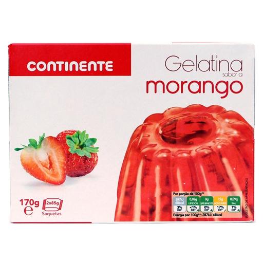 Gelatina Morango - Continente