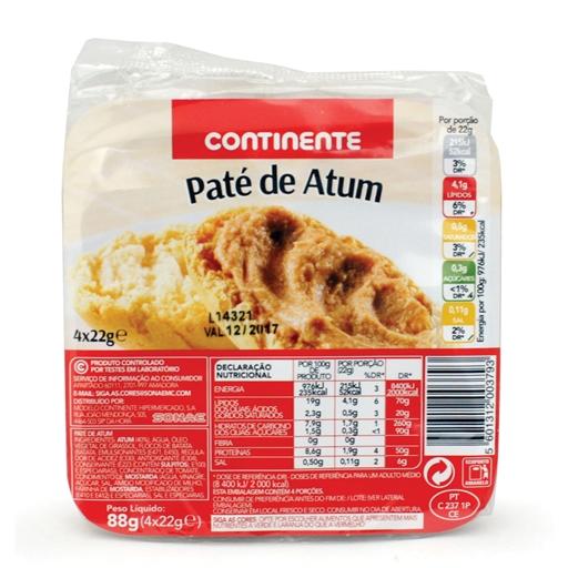 Paté de Atum - Continente