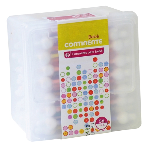 BABY	   COTTON	   BUDS CONTINENTE	   56UN
