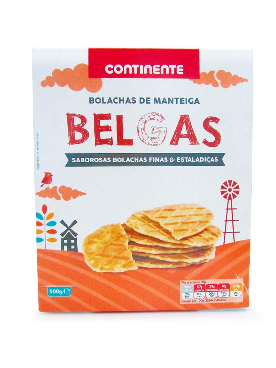 BELGIUM COOKIES CONTINENTE 500GR
