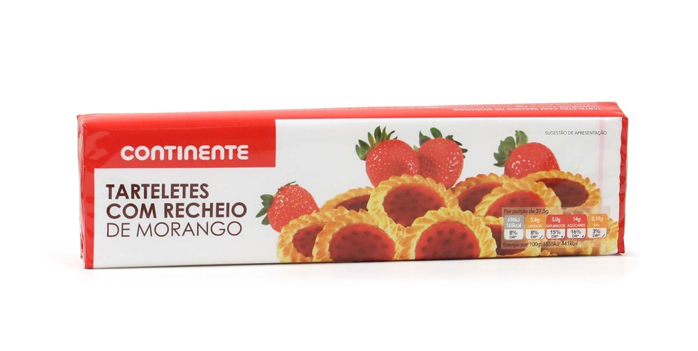 STRAWBERRY TARTELETES CNT 150GR
