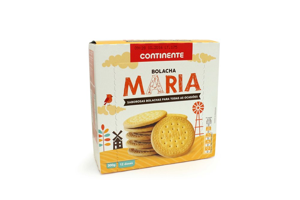 MARIA	   BISCUITS INDIVIDUAL	   PACKS	   CNT 300GR