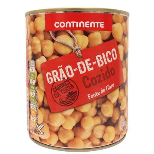 CHICK	   PEAS CONTINENTE 830GR