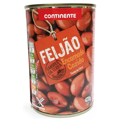 RED	   BEANS	   CONTINENTE 420GR