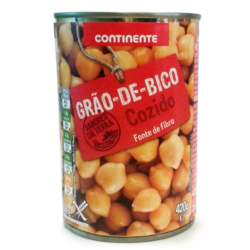 CHICK	   PEAS CONTINENTE	   420GR