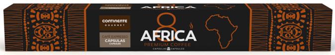AFRICA COFFEE GOURMET  CNT  10CAP