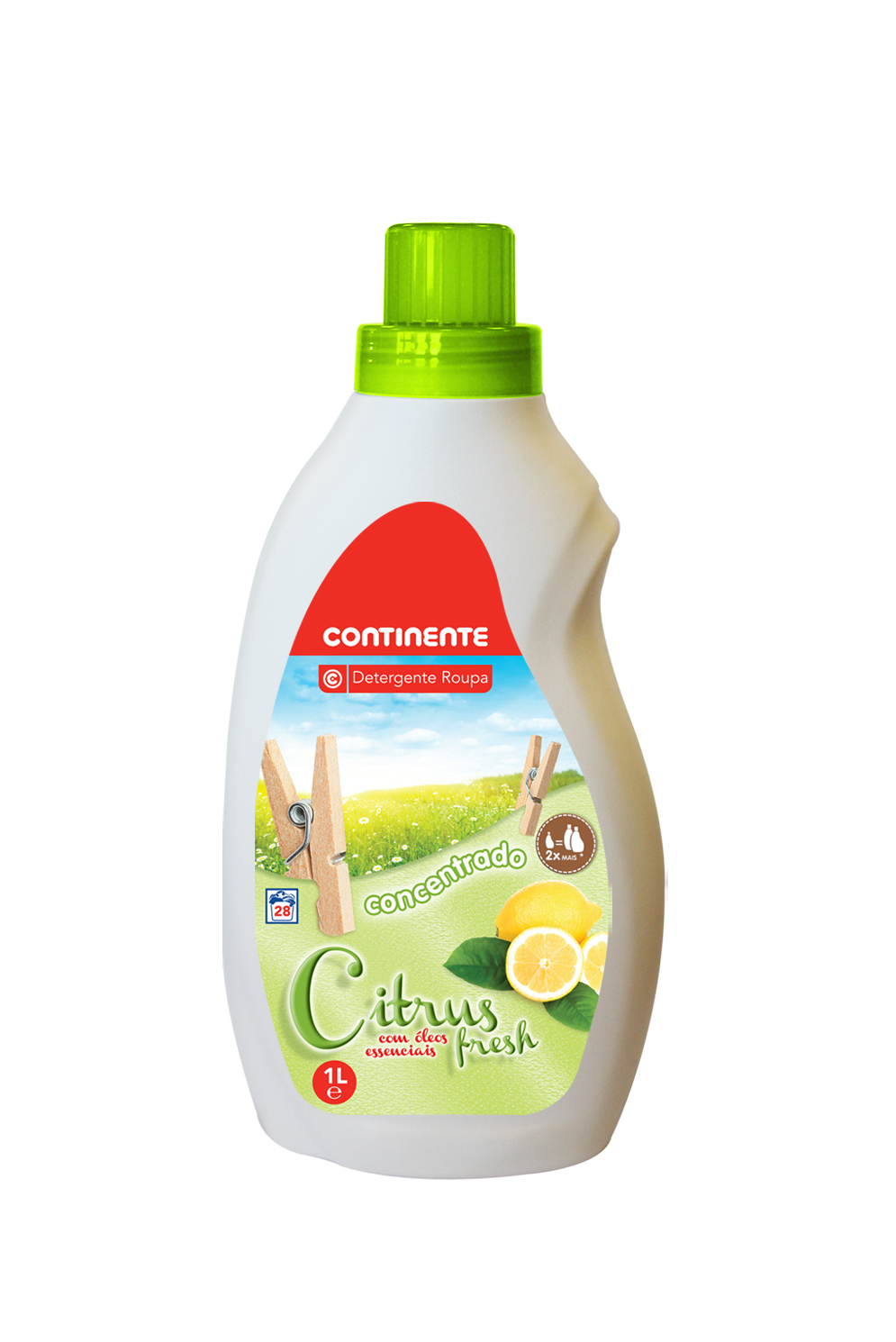CONCENTRATED DETERGENT	   CITRUS FRESH	   CONTINENTE