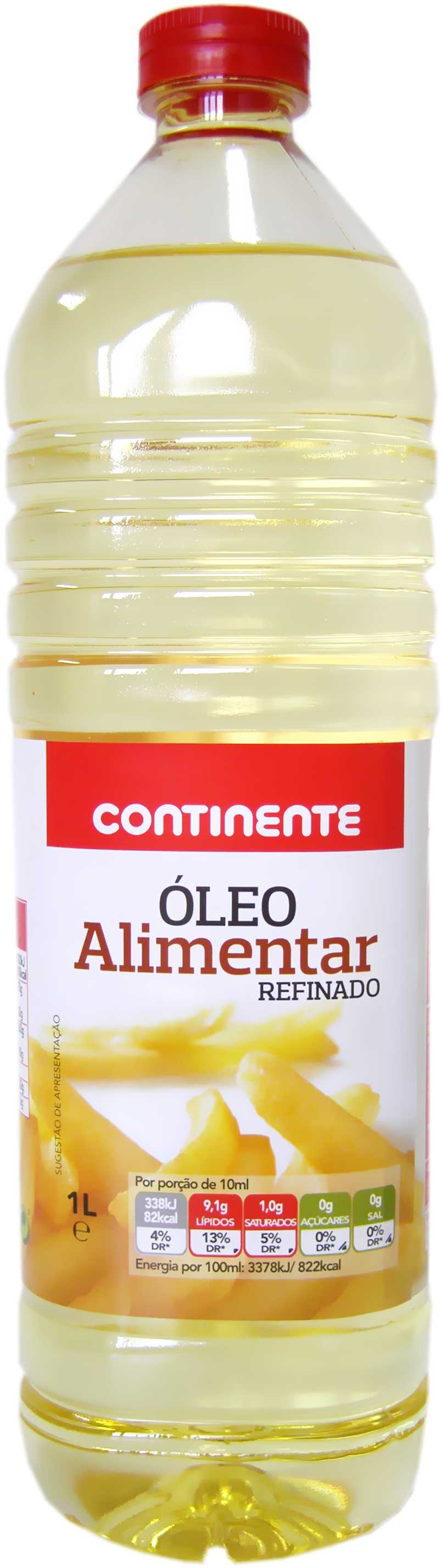 COOKING	   OIL CONTINENTE	   1LT