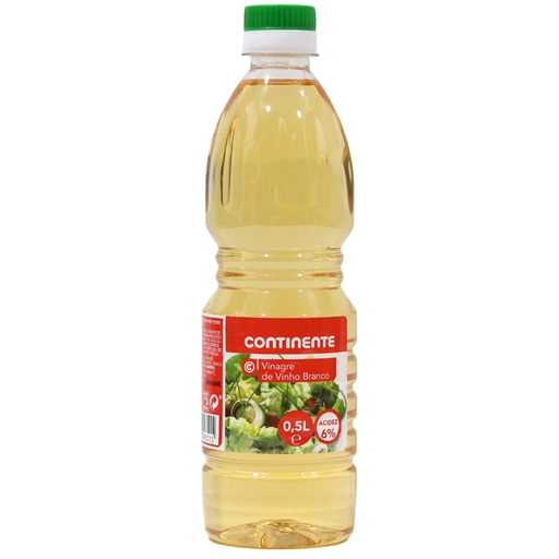 WHITE	   WINE	   VINEGAR CONTINENTE	   50CL