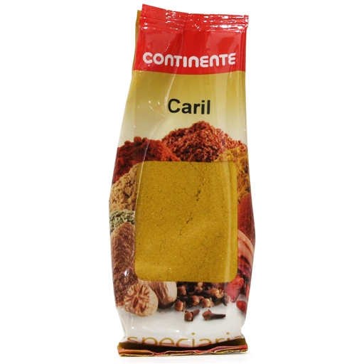 CURRY	   CONTINENTE BAG 50GR