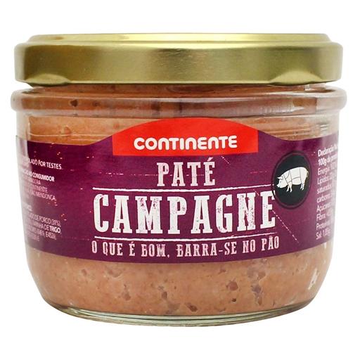 CAMPAGNE  PATE CONTINENTE  125GR