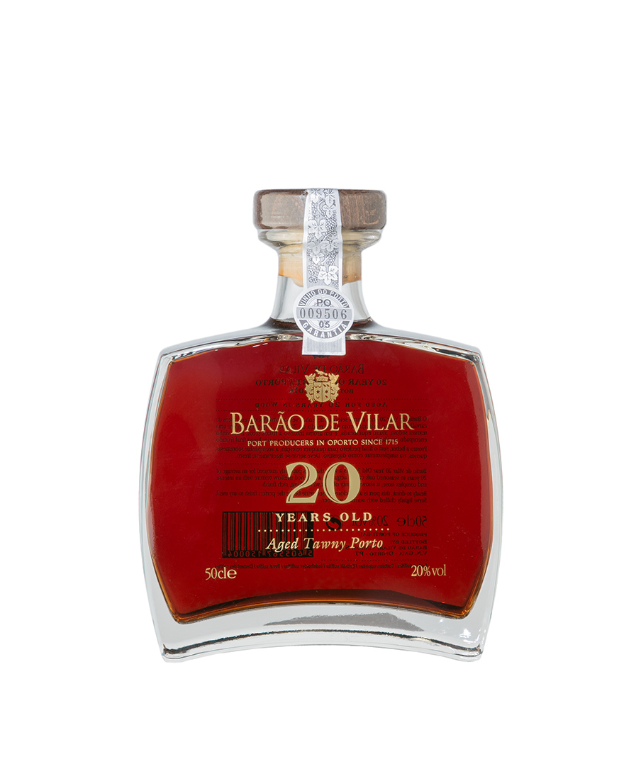 Copy of BARÃO DE VILAR 20 YEARS OLD 50cl CALLISTO