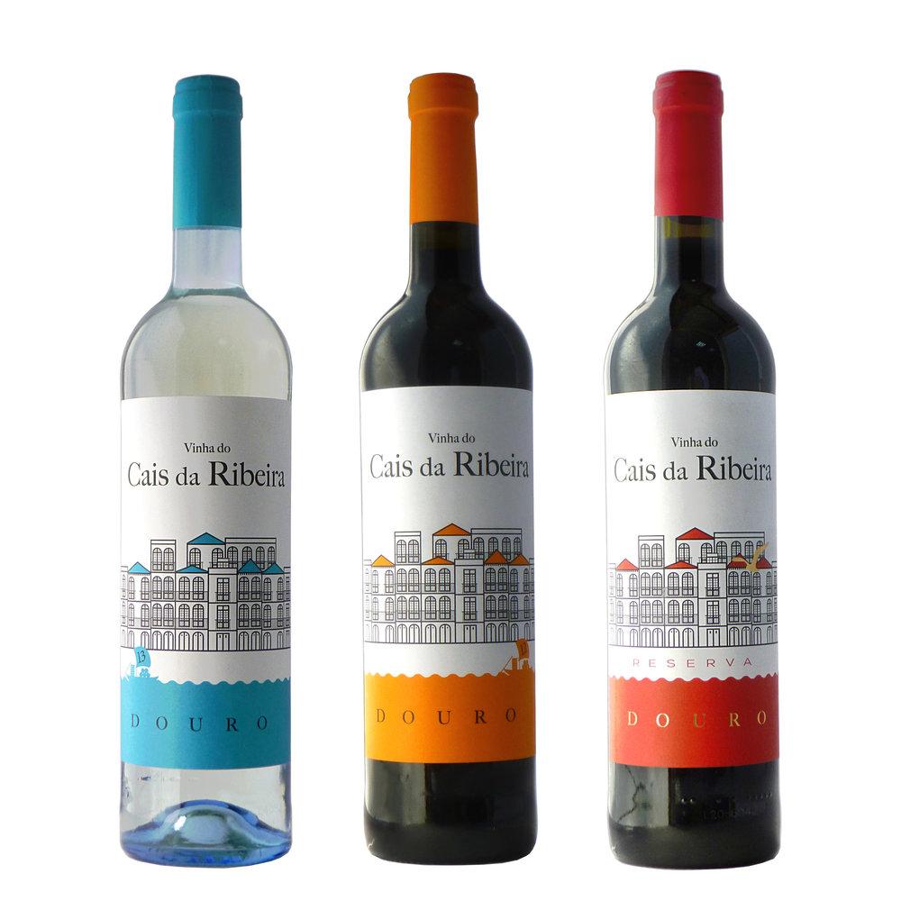 Copy of CAIS DA RIBEIRA WHITE/RED/RED