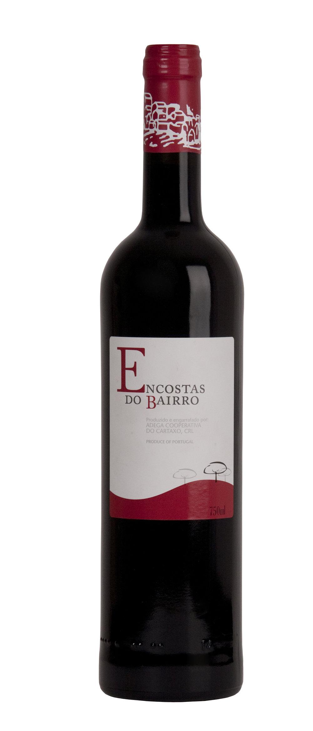 ENCOSTAS DO BAIRRO Red