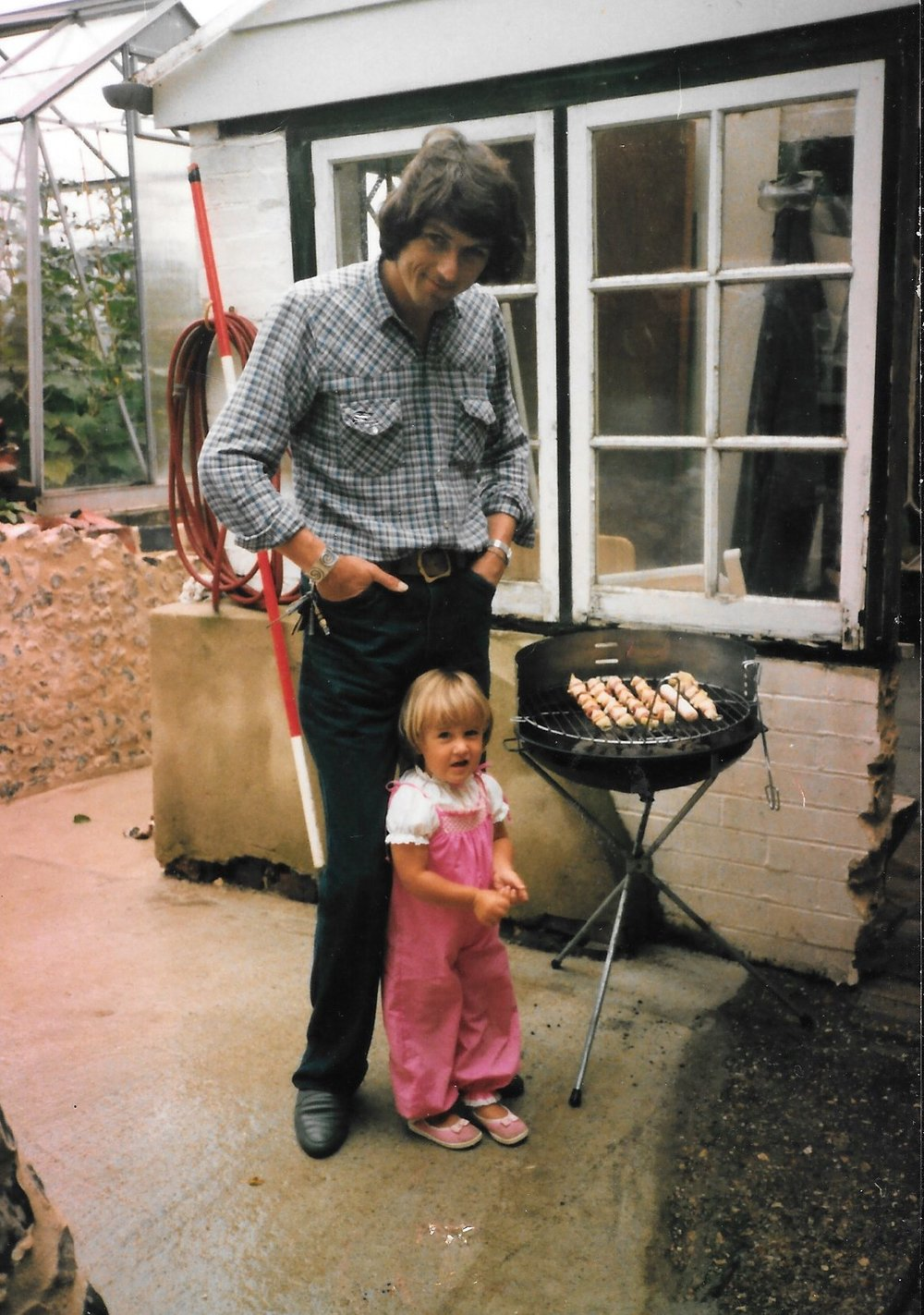Rebecca and her Dad
