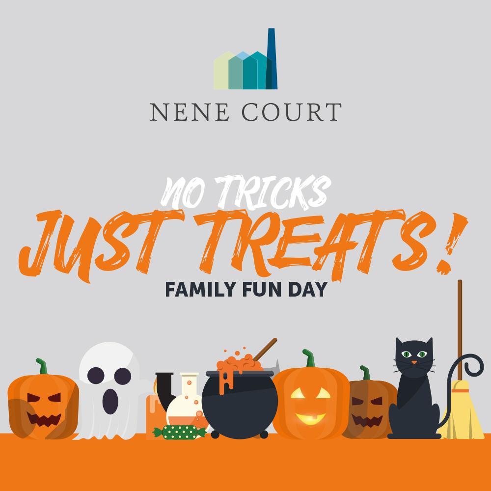 no tricks, just treats at nene court this halloween — nene court