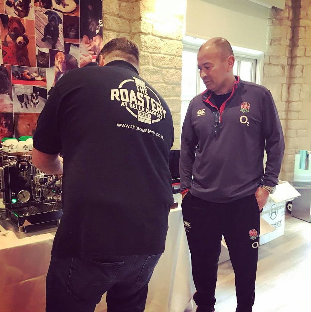 England Head Coach, Eddie Jones