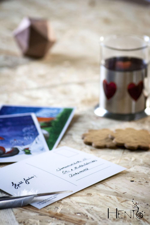 Grovehill Creative Studio | Hento Design® joulukortit. Joulun odotuksessa parasta ovat pienet pysähdykset lempeiden jouluaskareiden parissa ja niiden jakaminen läheisten kanssa.