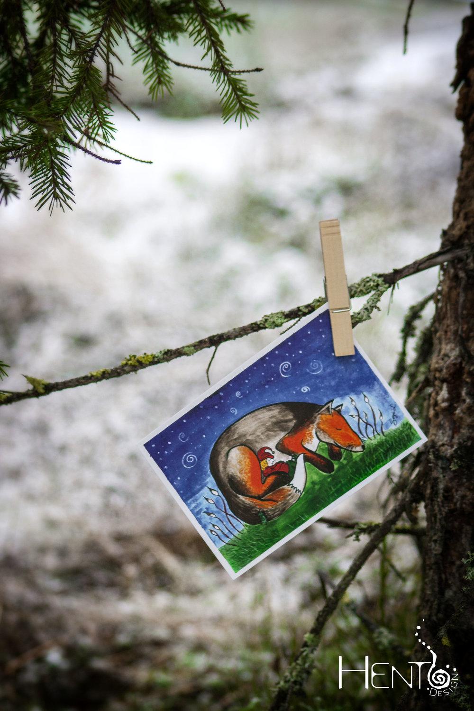 Grovehill Creative Studio | Hento Design® joulukortit. Uppoudu tarinaan ja piipahda hetkeksi toiseen maailmaan.