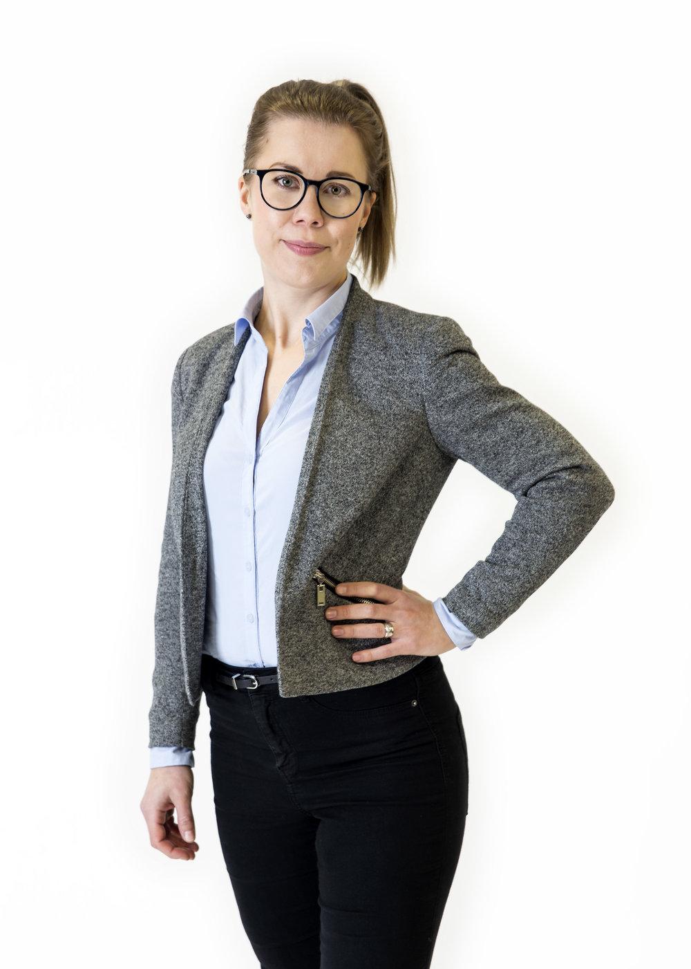 Business Lady   Business image for Anniina Oksman.
