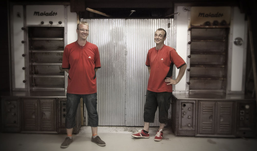 Brothers   Business image for Irene Partanen. In the image: Jarmo & Janne Komulainen.
