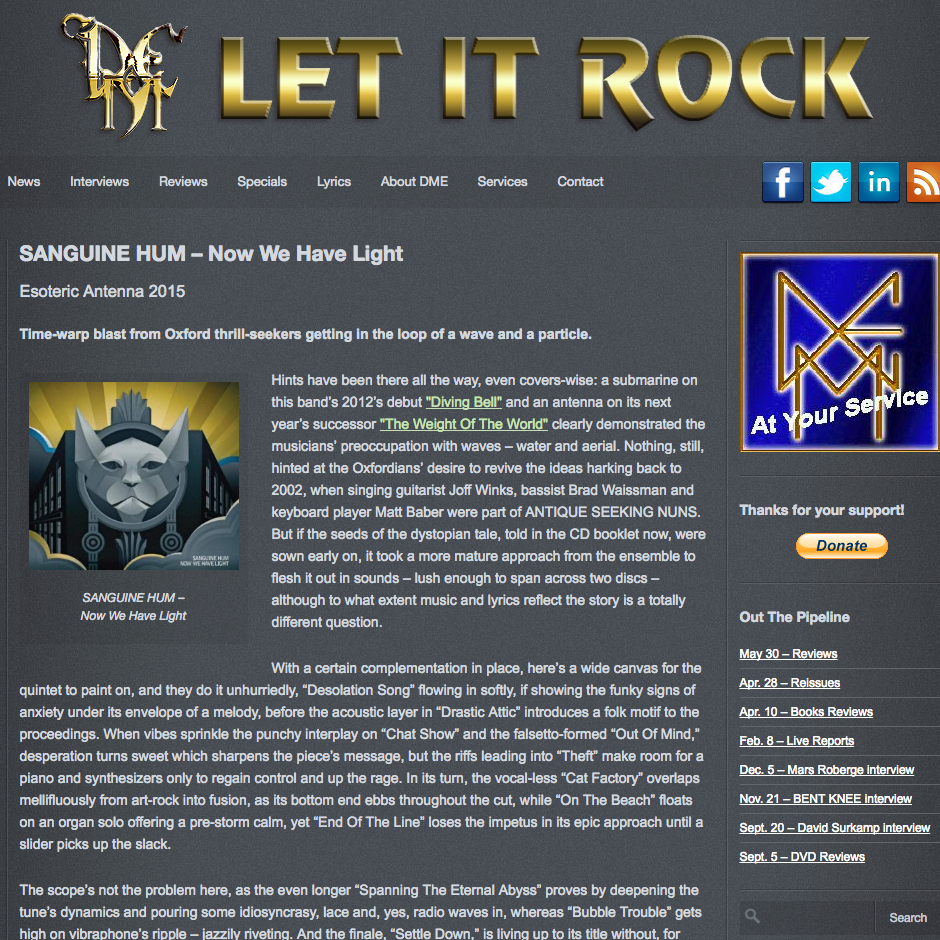 <p><strong>Let It Rock</strong><i></i></p>