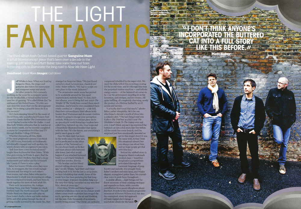 <p><strong>Prog Magazine</strong>Now We Have  Light<i></i></p>