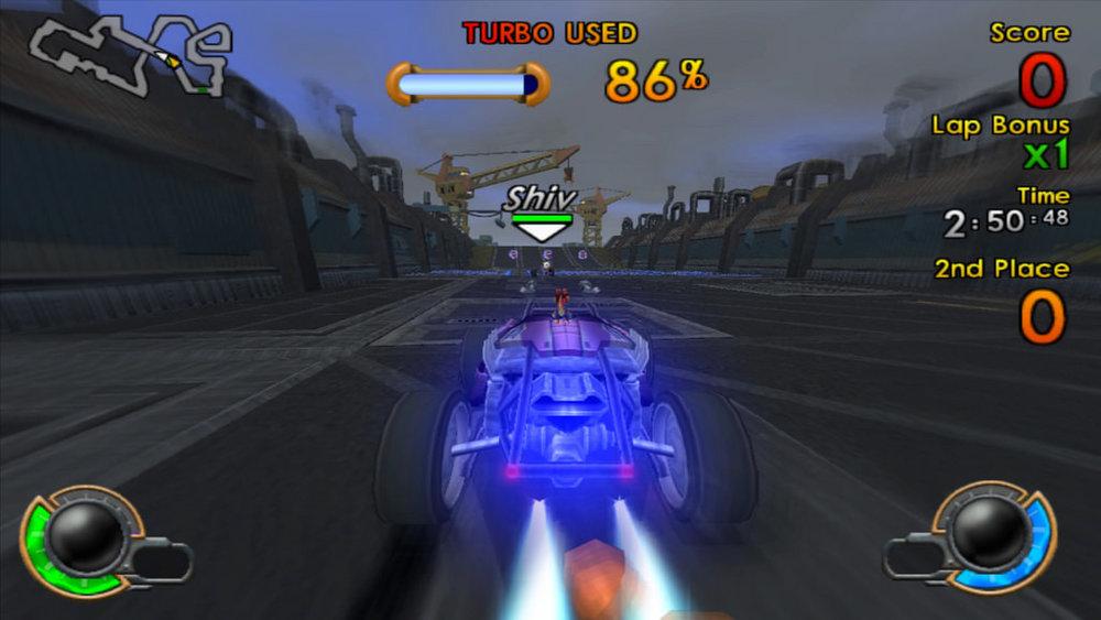 Jak X: Combat Racing in-game screenshot