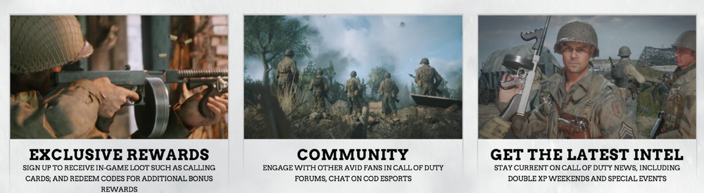 [Rumor]Leaked in-game low-resolution images of Call of Duty: WWII taken from COD website