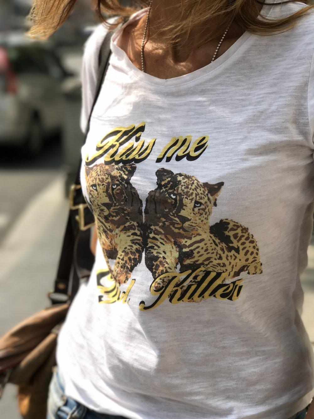 cupid killer camiseta kiss me blanca 7