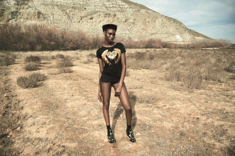 camiseta fallen ángel black cupid killer