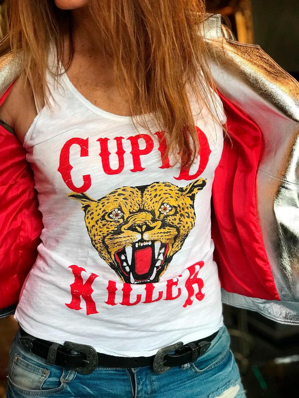 camiseta cupid wild white cupid killer