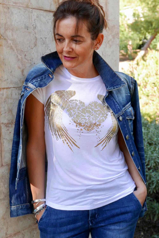 fallen ángel white t-shirt cupid killer