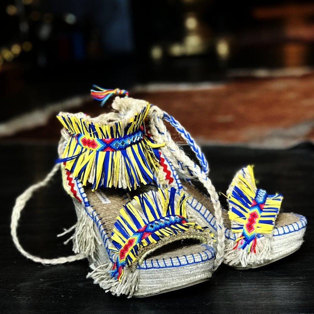 sandalia áfrica mb marietta en cupid killer boutique