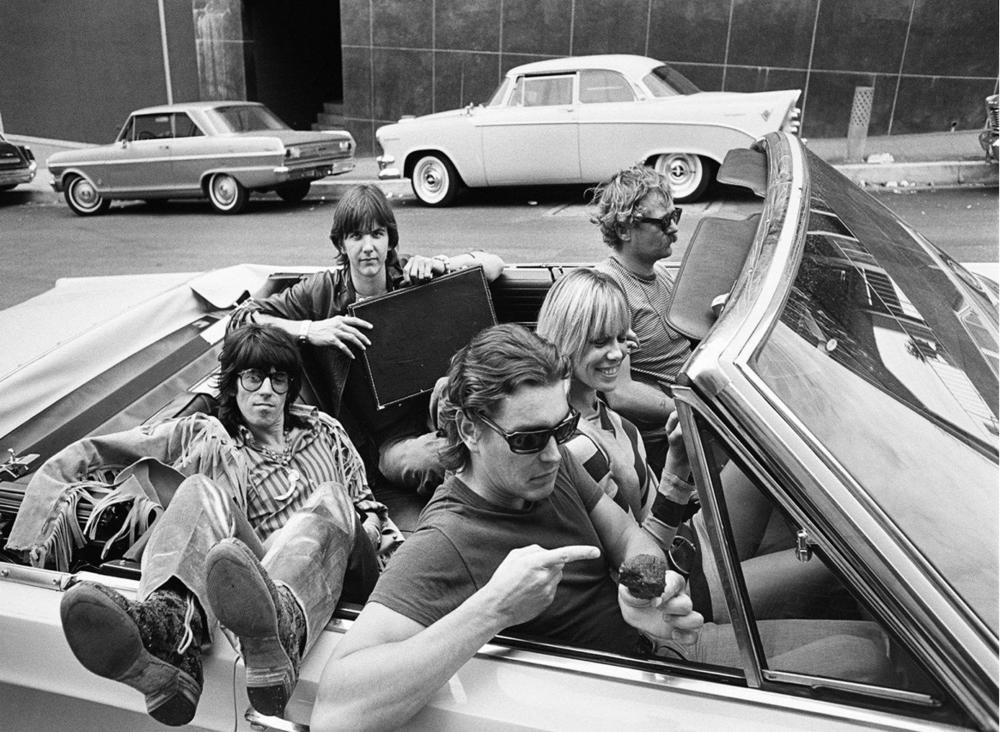 Gram Parsons & Keith Richards